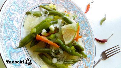thai style glass noodle salad