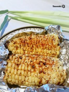 sesame chili corn