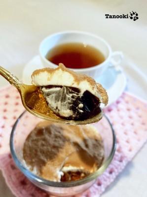 coffee jelly tiramisu