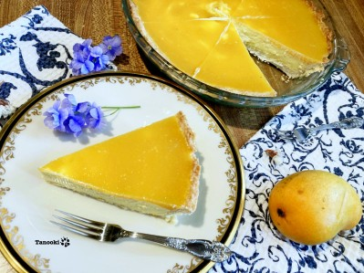 2 layers mango cheesecake