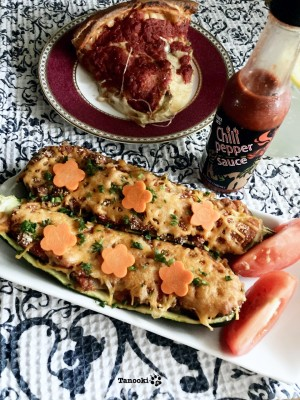 marinara zucchini boat