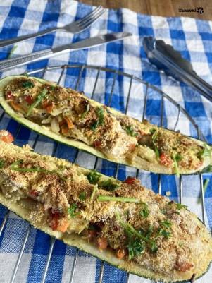 vegan zucchini boat