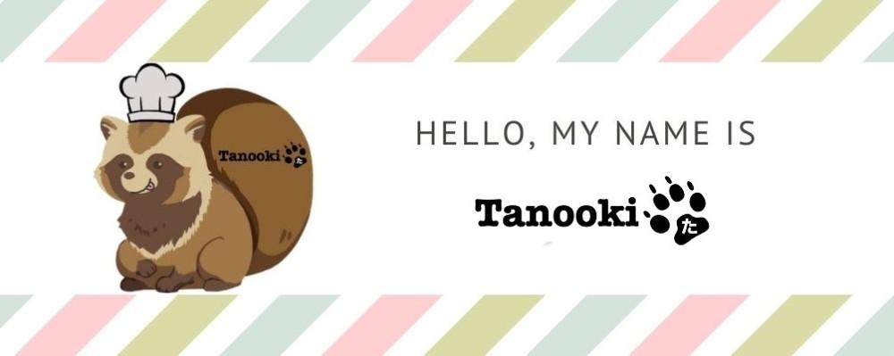 hello my name is tanooki