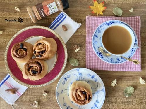 cinnamon raisin roll tea party